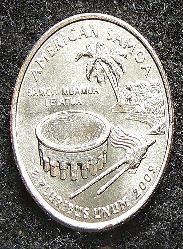 2009 P American Samoa Territorial Quarter