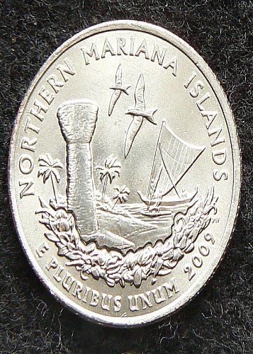 2009 P Northern Mariana Islands Territorial Quarter