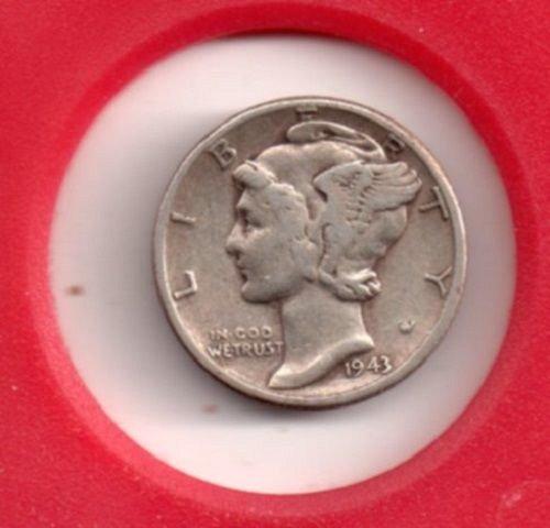 1943 p Mercury Dime #3