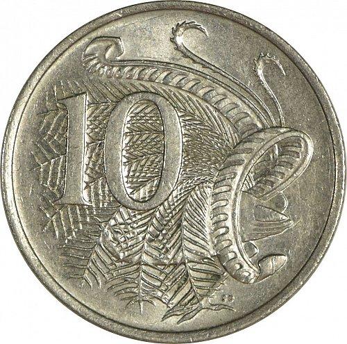 Australia, 10 Cents, 1981, (Item 483)