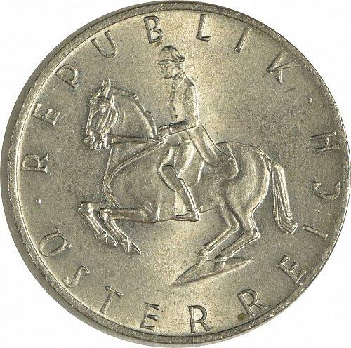 Austria, 5 Schilling, 1973,  (Item 478)