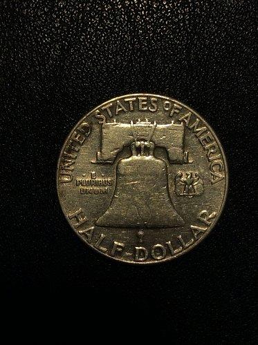 1950 P Franklin Half Dollar
