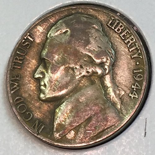 1944-P Jefferson Wartime Nickel (41721)