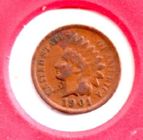 1901 Indian Head Penny #3