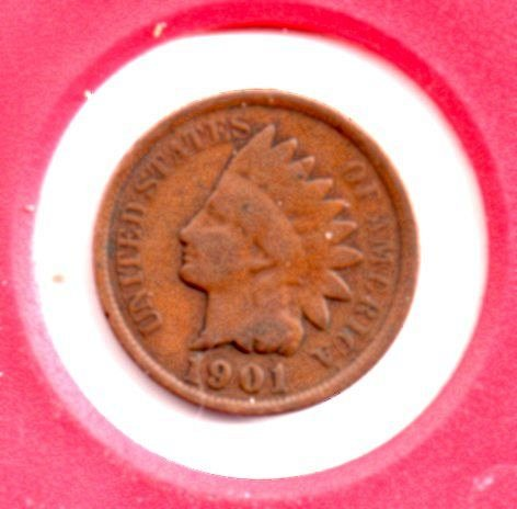 1901 Indian Head Penny #4