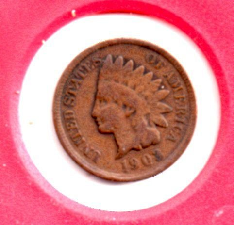 1903 Indian Head Penny #4