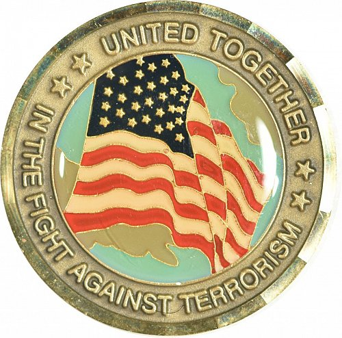 Challenge Coin, 911 Memorial, (Item 444)