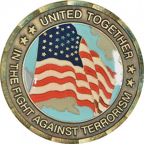 Challenge Coin, 911 Memorial, (Item 453)