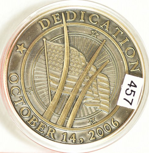 Challenge Coin, USAF Memorial Dedication, 2006, (Item 457)