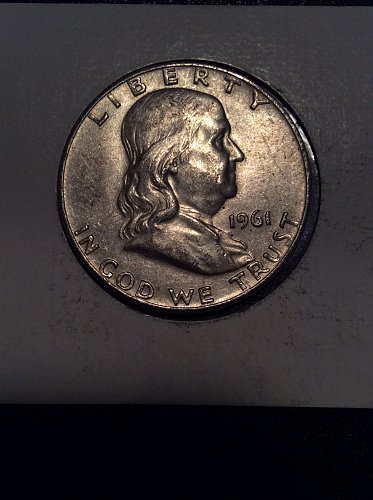 1961 D Franklin Half