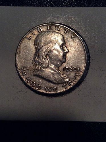 1960 D Franklin Half Dollar