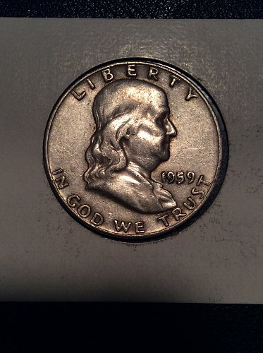 1959 D Franklin Half
