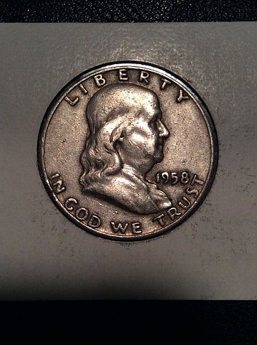 1958 D Franklin Half