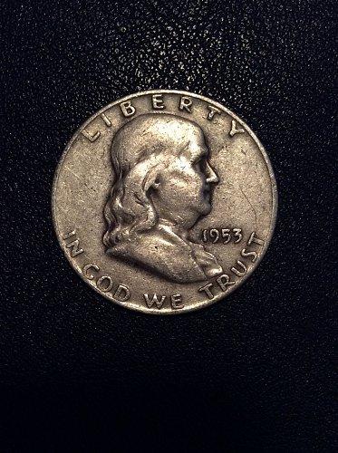 1953 D Franklin Half