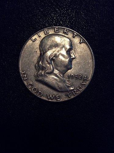 1952 D Franklin Half