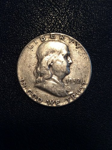 1952 D Franklin Half  NO RESERVE!!