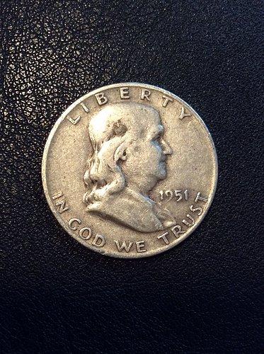 1951 D Franklin Half