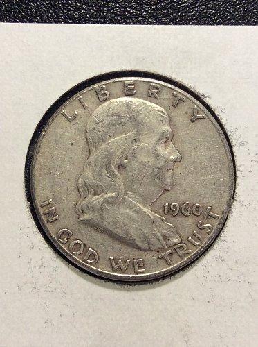 1960 P Franklin Half Dollar
