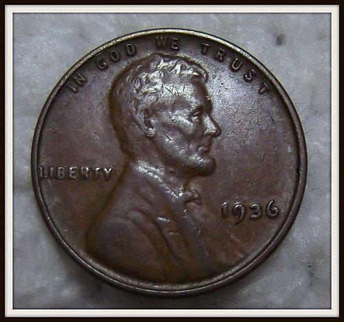 1936 1C Lincoln Wheat Cent (XF) DDO (FS-01-102)