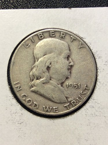 1951 S Franklin Half