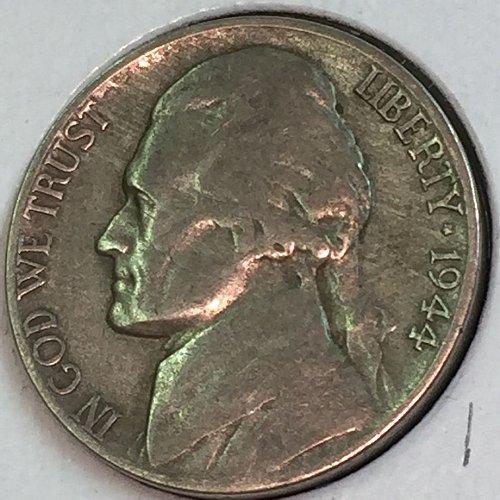 1944-D Jefferson Wartime Nickel (41725)