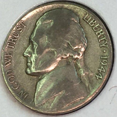 1944-D Jefferson Wartime Nickel (41744)