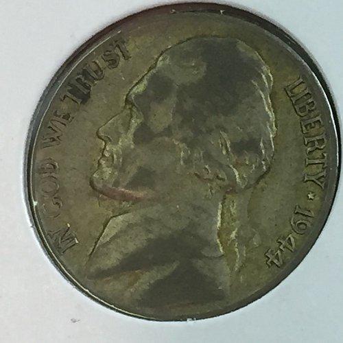 1944-D Jefferson Wartime Nickel (10478)