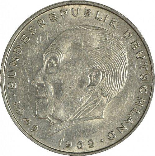 Germany (Bundesrepublik), 2 DM, 1971 D,  (Item 470)