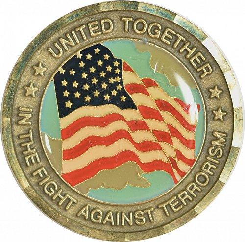 Challenge Coin, 911 Memorial, (Item 446)