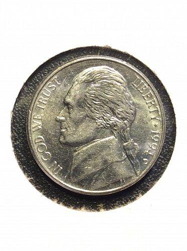 1994 D Jefferson Nickel