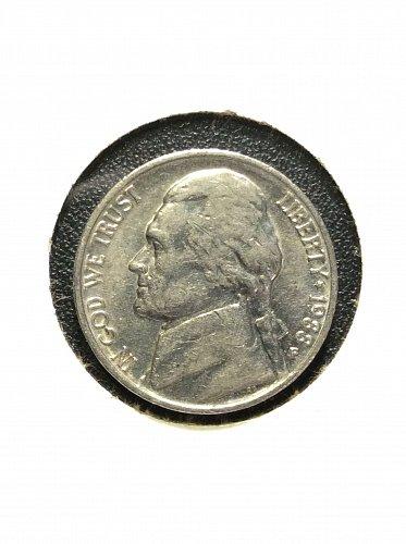 1988 P Jefferson Nickel
