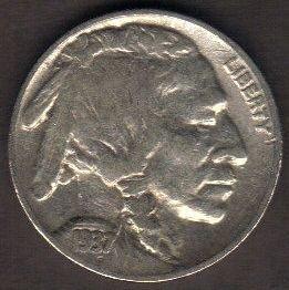 1937 P Buffalo Indian Head Nickel AU-50 Or Better!