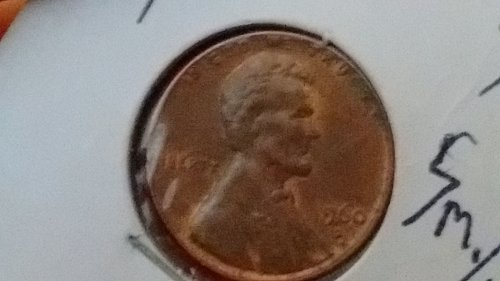 1960 d/d  small date over large date