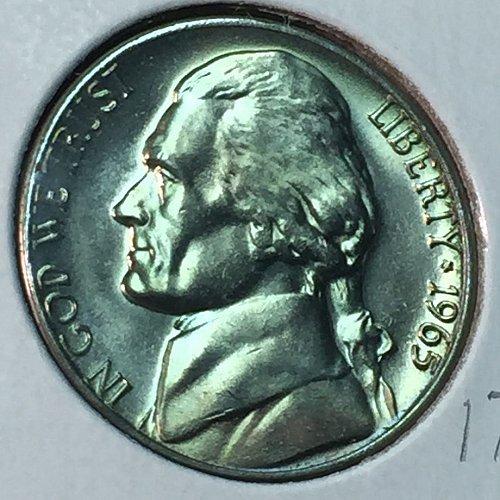 1965-P Jefferson Nickel (40548)