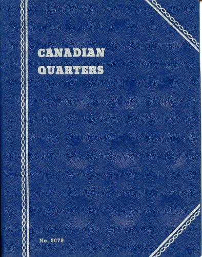 "Whitman Folder ""Canadian Quarters"" 48-Blank Ports, 9079, New"