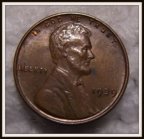 1939 - P Lincoln Wheat Cent (XF)