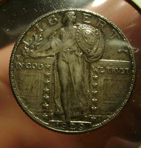 1929 Standing Liberty Quarter NICE HEAD DETAIL Free Shipping