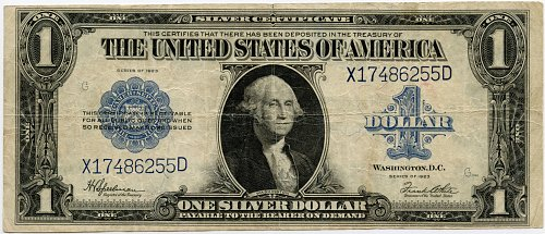 1923 $1.00 Silver Certificate - F237 - Very Good