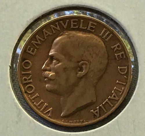 1932 R Italy 5 Centesimi