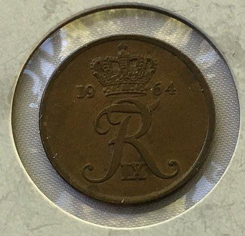 1964 C S Denmark 5 Ore