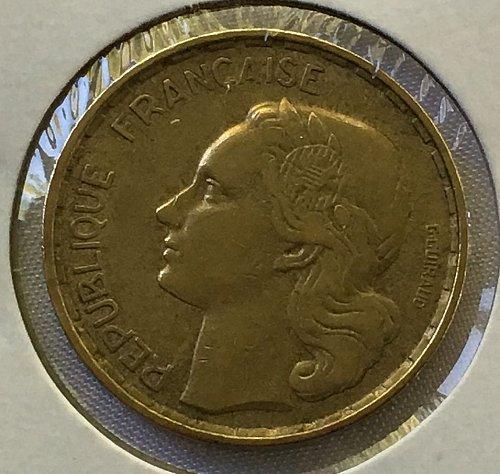 1951 France 50 Francs