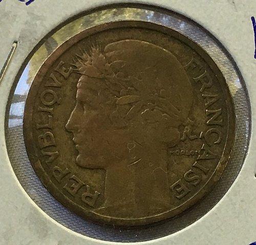 1938 France 2 Francs