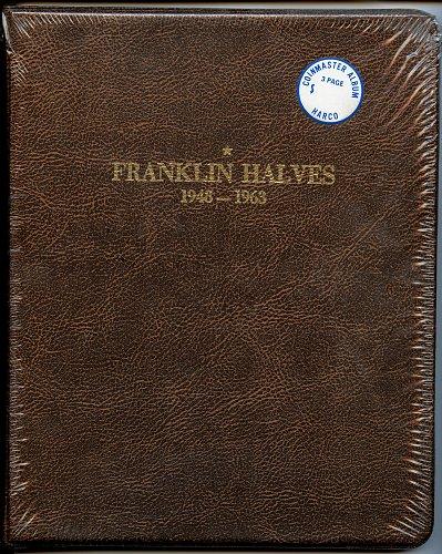 HARCO Coin Master Album Franklin Halves 1948-1963  NEW in plastic