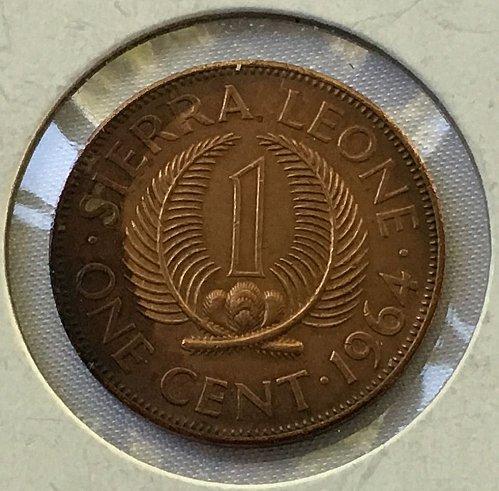 1964 Sierra Leone One Cent