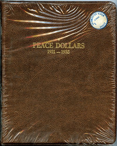 HARCO Coin Master Album Peace Dollars 1921-1935 -   NEW in plastic