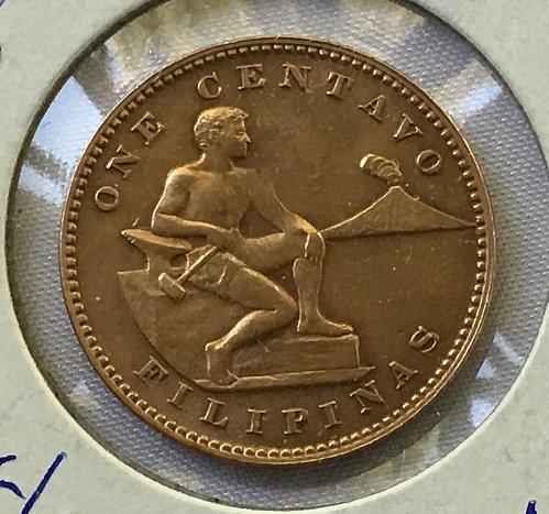 1944 Philippines 1 Centavo