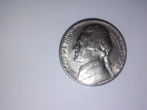 1962 nickle in GREAT condition!