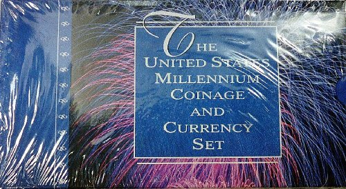 2000 U.S. Millennium Coinage and Currency Set SEALED