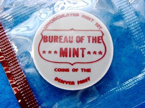 """1970-D Kennedy Half Dollar • Blazing """"BU"""" Coin •  From Mint Set •  (#1637)"""