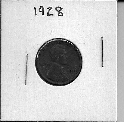 1928 P Lincoln Wheat Cent
